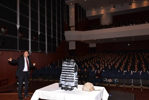 "Assoc.Prof.Dr.G.İbrahim Öğünç organized a conference on ""Wound Ballistics and Ballistic Protective Materials"""